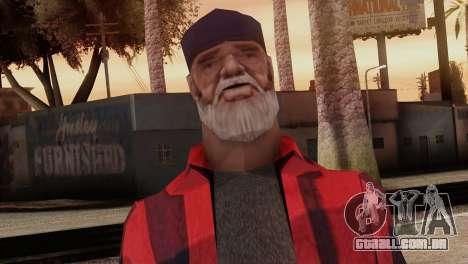 New Homeless Skin para GTA San Andreas terceira tela