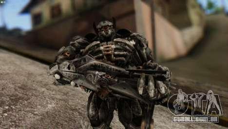 Shockwave Skin from Transformers v2 para GTA San Andreas