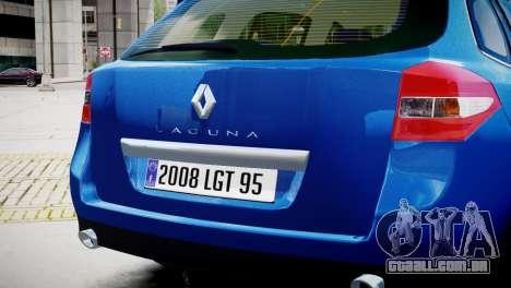 Renault Laguna III.1 Estate GT para GTA 4 vista direita