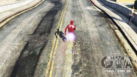 GTA 5 The Flash terceiro screenshot