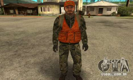 Job Man para GTA San Andreas terceira tela