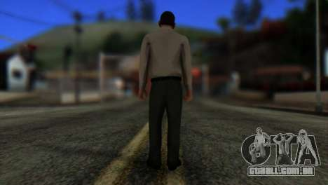 GTA 5 Skin 7 para GTA San Andreas segunda tela