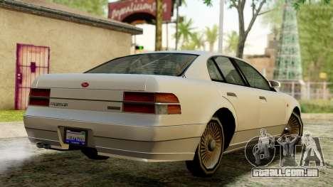 GTA 4 Intruder para GTA San Andreas esquerda vista