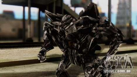 Starscream Skin from Transformers v2 para GTA San Andreas