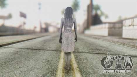 Kayako Skin para GTA San Andreas terceira tela
