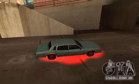 Cleo De Néon para GTA San Andreas segunda tela