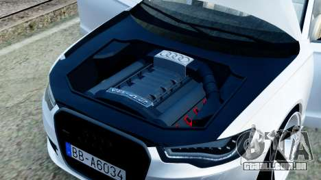 Audi A6 Stanced para GTA San Andreas vista interior