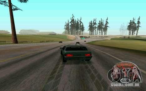 Velocímetro Lada para GTA San Andreas segunda tela