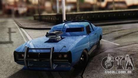 GTA 5 Imponte Dukes ODeath para GTA San Andreas vista traseira