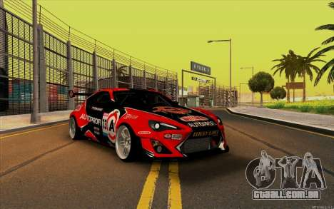 Toyota GT86 ZeroZver para GTA San Andreas