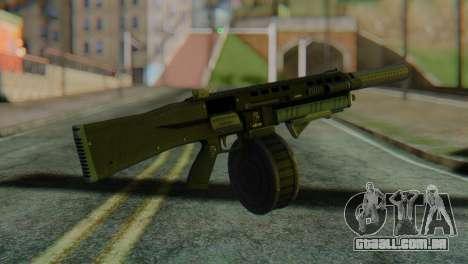 Assault Shotgun GTA 5 v2 para GTA San Andreas segunda tela