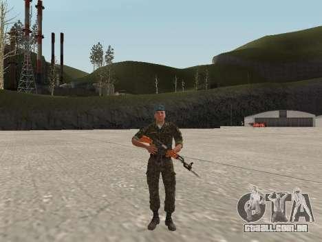 O airborne soldado da Ucrânia para GTA San Andreas