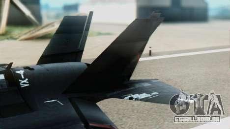 F-35B Polish Air Force 1. ELT para GTA San Andreas traseira esquerda vista