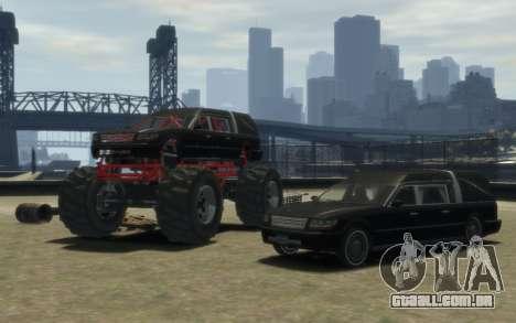 Albany Undertaker (Romero Monster) para GTA 4 vista de volta