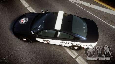 Dodge Charger SXT AWD 2015 PPV [ELS] para GTA 4 vista direita
