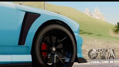 GTA 5 Bravado Buffalo S Sprunk IVF para GTA San Andreas vista traseira