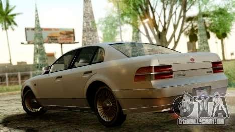 GTA 4 Intruder para GTA San Andreas traseira esquerda vista