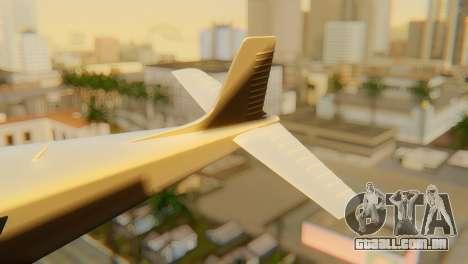 GTA 5 Dodo v1 para GTA San Andreas traseira esquerda vista