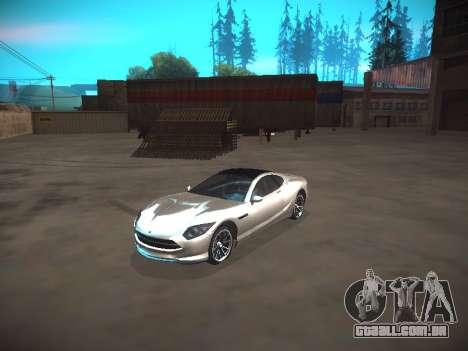 ENB Dark Orbit para GTA San Andreas terceira tela