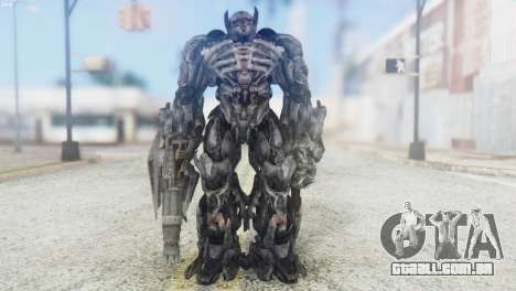 Shockwave Skin from Transformers v2 para GTA San Andreas segunda tela