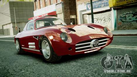Benefactor Stirling GT from GTA 5 para GTA 4 esquerda vista