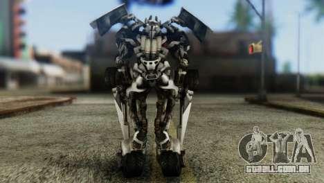 Sideswipe Skin from Transformers v1 para GTA San Andreas terceira tela