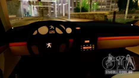 Peugeot 406 para GTA San Andreas vista traseira