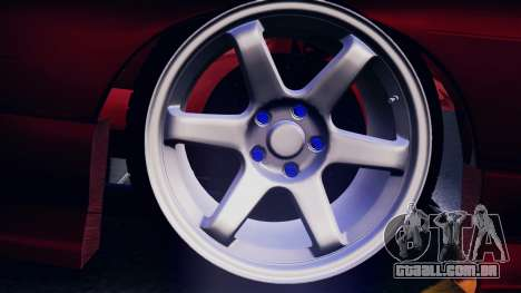 Nissan 180SX para GTA San Andreas vista interior