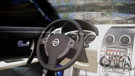 Nissan Maxima 2009 para GTA San Andreas vista traseira