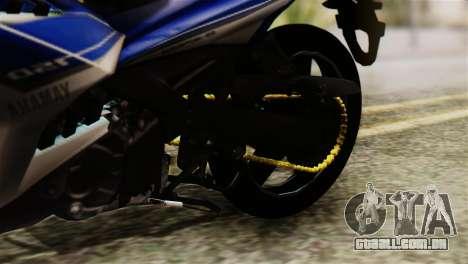 Yamaha MX KING 150 para GTA San Andreas vista traseira