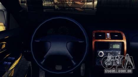 Mazda 626 para GTA San Andreas vista traseira