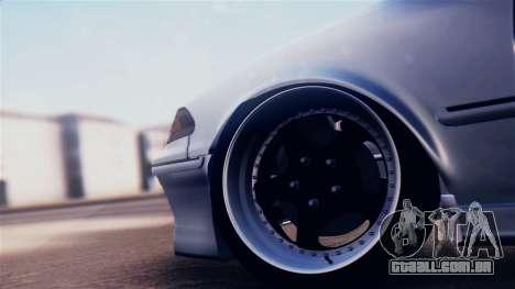 Toyota Mark 2 100 para GTA San Andreas vista traseira