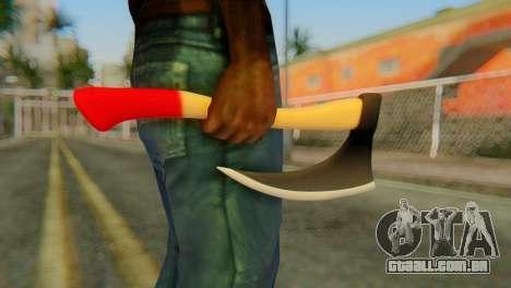 Machado para GTA San Andreas terceira tela