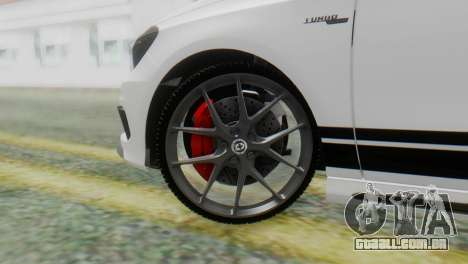 Mercedes-Benz A45 AMG para GTA San Andreas traseira esquerda vista