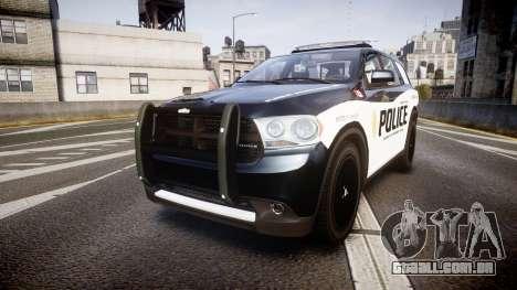 Dodge Durango Alderney Police para GTA 4