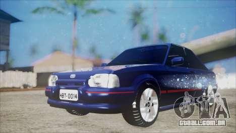 Ford Escort para GTA San Andreas vista direita