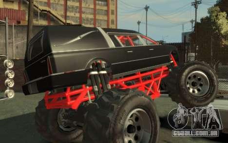 Albany Undertaker (Romero Monster) para GTA 4 esquerda vista