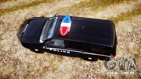 Chevrolet Tahoe SPVQ [ELS] para GTA 4 vista direita
