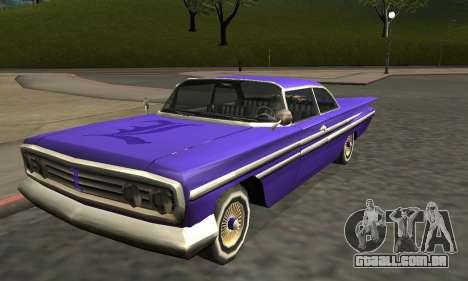 Luni Voodoo Remastered para as rodas de GTA San Andreas