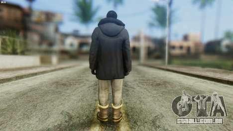 Snowcop Skin from GTA 5 para GTA San Andreas segunda tela