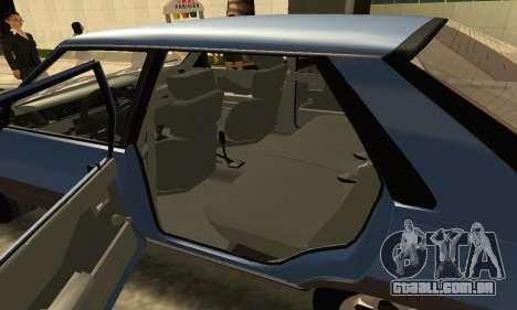 Renault 11 TXE Taxi para GTA San Andreas vista superior