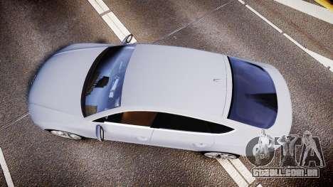 Audi A7 para GTA 4 vista direita