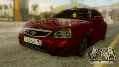 Lada Priora Sedan para GTA San Andreas