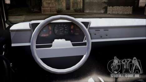 Renault 12 TL para GTA San Andreas traseira esquerda vista