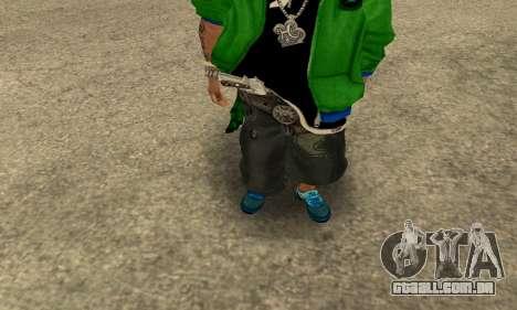 Groove St. Nigga Skin Second para GTA San Andreas segunda tela