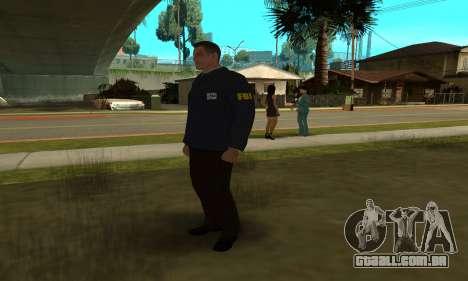 FBI HD para GTA San Andreas por diante tela