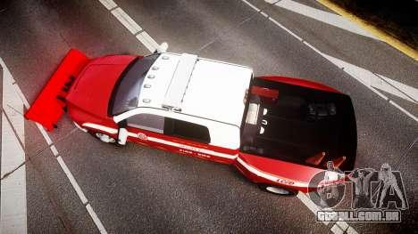 Dodge Ram 3500 2013 Utility [ELS] para GTA 4 vista direita
