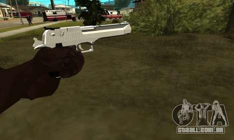 Metalic Deagle para GTA San Andreas segunda tela