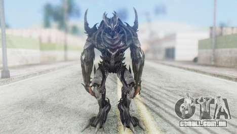 Crankcase Skin from Transformers para GTA San Andreas segunda tela