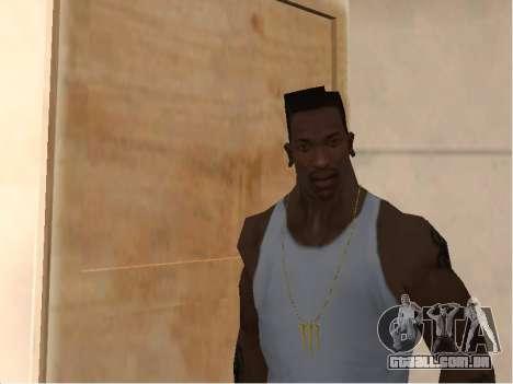 Цепь Monster Energy para GTA San Andreas segunda tela